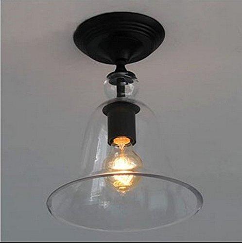 yupx deckenbeleuchtung crystal bell glas deckenleuchte deckenlampe. Black Bedroom Furniture Sets. Home Design Ideas
