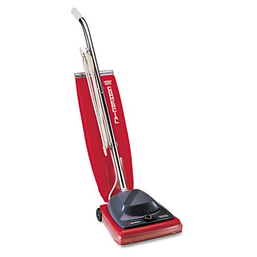 Electrolux Sanitaire - Sanitaire Commercial Upright Vacuum W/Vibra-Groomer Ii, 16Lb, Red Sc684F (Dmi Ea