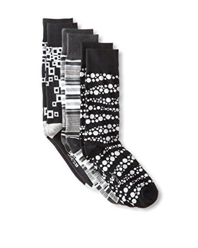 Joe's Men's Mixed Pattern Socks - 3 Pack