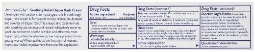 Imagen de Aveeno Baby Diaper Rash Cream, sin fragancia, 3.7-Ounce Tubes (Pack de 3)