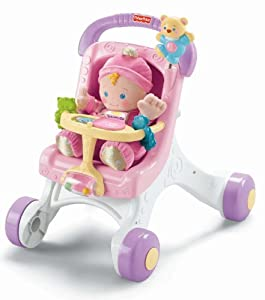 Fisher-Price Brilliant Basics Stroll Along Walker from [Manufacturer]