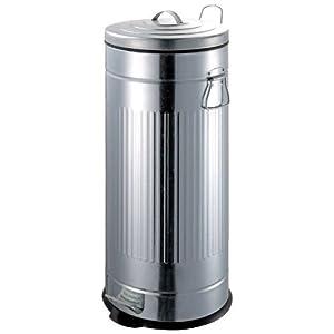 kitchen move poubelle 30 litres galvanis cuisine maison. Black Bedroom Furniture Sets. Home Design Ideas