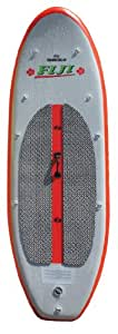 Solstice Fiji Inflatable Stand Up Paddleboard, Red/Grey, 8-Feet