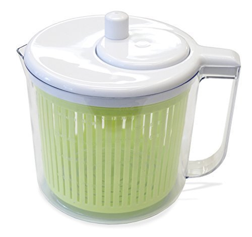 The Sharper Image® Single Serving Salad Spinner with Measuring Cup (2.5 Quart) (Ziplock Single Serve compare prices)