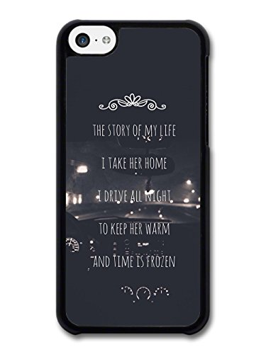 One Direction Harry Styles Niall Horan Story Of My Life Lyrics Car custodia per iPhone 5C