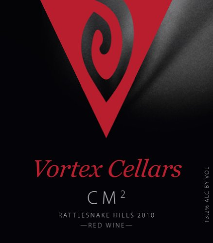 "2010 Vortex Cellars ""Cm2"" Rattlesnake Hills Red Blend Of Cinsault & Mourvèdre 750 Ml"