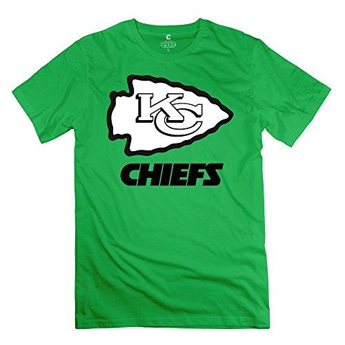 Jiuzhou Men's T Shirt Kansas City Chiefs NFL S ForestGreen