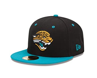 NFL Jacksonville Jaguars Two Tone 59Fifty Fitted Cap by New Era