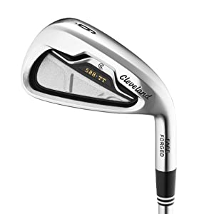 Cleveland Golf 588 TT Irons with Graphite Shafts
