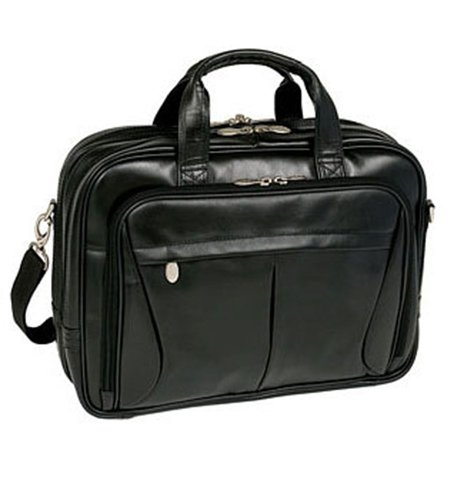 McKlein-USA-Pearson-Leather-Expandable-154-Laptop-Briefcase