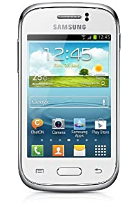 Samsung S6310 Galaxy Young Sim Free Smartphone - White