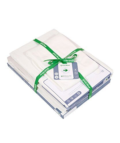 The Little Green Sheep Organic Moses Basket Bedding Set
