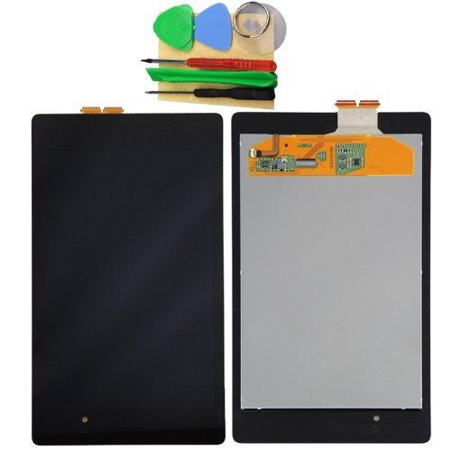 Ulike-Oem Asus Google Nexus 7 Lcd Screen Display With Digitizer Touch 2Nd Generation 2013 Ver. Replacement Part