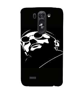 PrintVisa Cool Man Design 3D Hard Polycarbonate Designer Back Case Cover for LG G3 BEAT