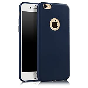 ikazen Ultra Thin Soft Silicone TPU matte Case for Apple iPhone 6 plus 6S plus - Blue