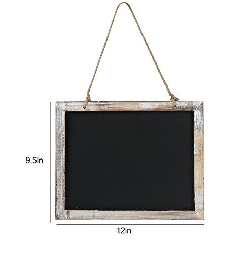 Rustic Style Message Memo Chalkboard Sign, mini blackboard (Old Style Chalkboard compare prices)