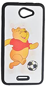 iCandy™ Premium Quality 3D Back Cover For HTC Desire 516 Dual sim - Pooh