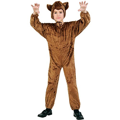 Child's Bear Halloween Costume (Size: Small 4-6)