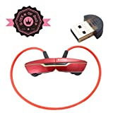 B99 Red Mini Lightweight Wireless Stereo Sports/running & Gym/exercise Bluetooth Earbuds Headphones Headsets W/microphone for Iphone 5s 5c 4s 4 Ipad 2 3 4 New Ipad Ipod Android Samsung Galaxy Smart Phones Bluetooth Devices-in