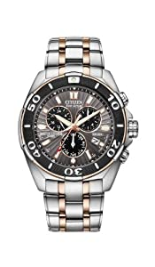 Citizen Men's BL5446-51H The Signature Collection Eco-Drive Perpetual Calendar Chronograph Watch
