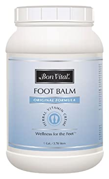 buy Bon Vital Original Foot Balm, 1 Gallon Jar
