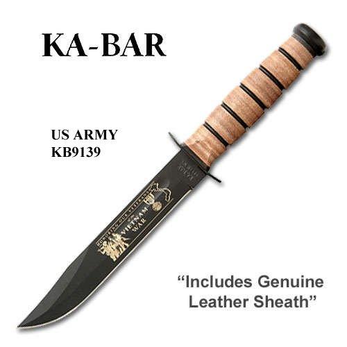Ka Bar Vietnam War Commemorative Knife Army Fulgenzia