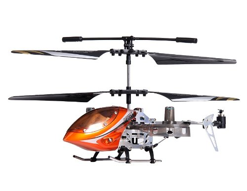 4-Channel RC Helicopter with Gyroscope and Light