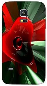 Timpax protective Armor Hard Bumper Back Case Cover. Multicolor printed on 3 Dimensional case with latest & finest graphic design art. Compatible with Samsung Galaxy S-5-Mini Design No : TDZ-25502