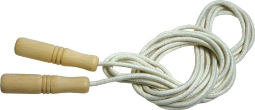Wooden handle long rope