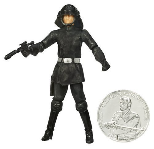 "STAR WARS 3.75"" BASIC FIGURE DEATH STAR TROOPER"