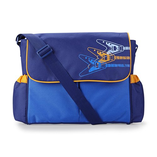 Guitar Messenger Diaper Bag