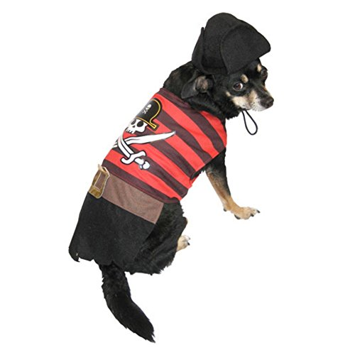Pirate Dog Costume with Hat