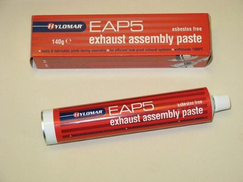 Hylomar Exhaust assembly sealant and lubricant Paste leak free 140G