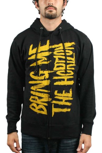 Bring Me The Horizon - BMTH Logo Zip Hoodie Felpa con cappuccio in nero Black Large