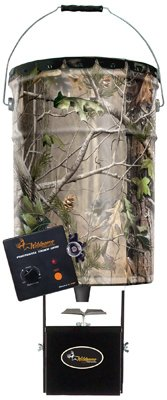 Wildgame Innovations Photocell Steel Pail Feeder front-410034