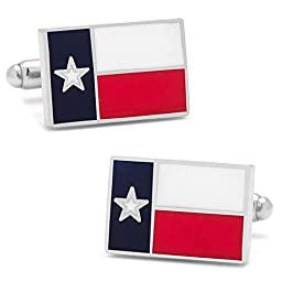 Cufflinks, Inc. Texas State Flag Cufflinks