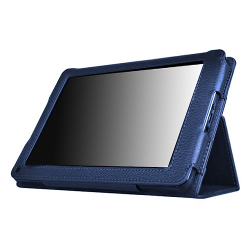 Kore Tech Faux Leather Folio Case with Flip Stand for