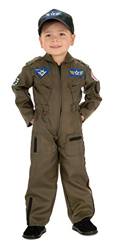 Boys - Air Force Fighter Pilot Toddler Costume Halloween Costume