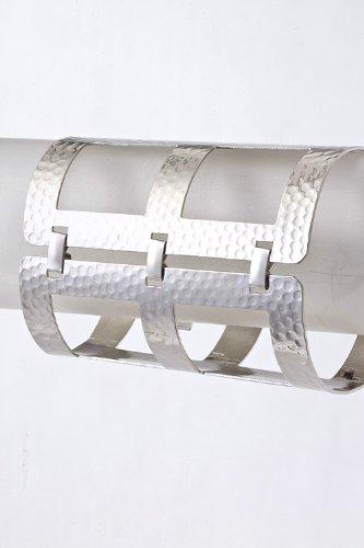 Karmas Canvas Square Cut Out Bracelet (Silver) front-202564