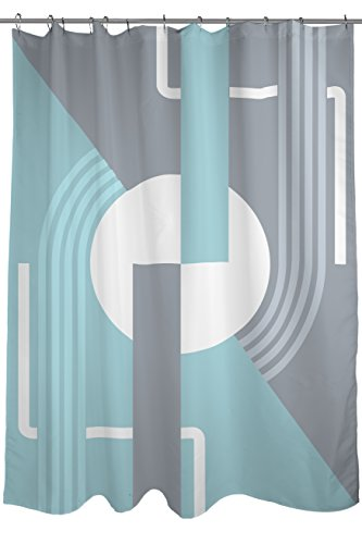 Art Deco Shower Curtain, Fabric, size 71