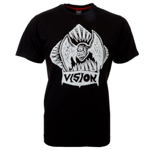 Vision Street Wear Flying Skull T-Shirt , schwarz