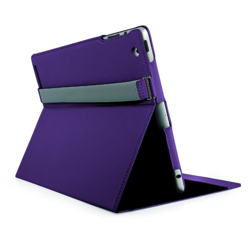 Mophie Workbook Fully Adjustable Folio for iPad 2 - Purple (2042_WRKBK-IPAD2-PRP)