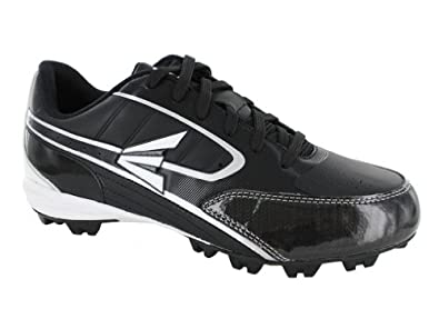 Buy Easton Mens Turbo Lite Black Silver Team Baseball Cleats by Easton