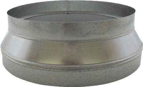 Speedi-Products SM-RDP 1412 14-Inch by 12-Inch Round Galvanized Plain Reducer