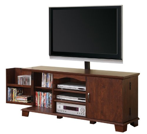 Cheap TV Stand Console with Media Storage in Brown Finish (AZ00-75533×32315)