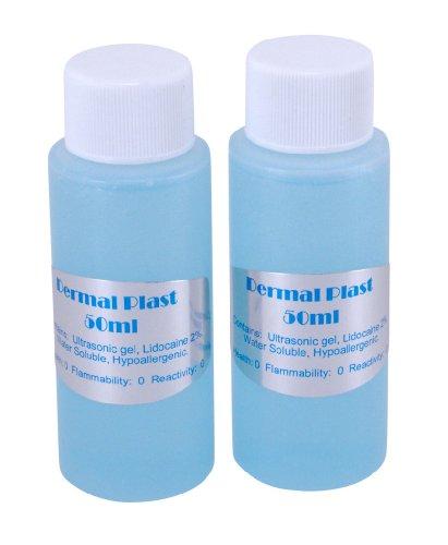 Dermal Plast (100ml) Hair Laser Refill with 2% Lidocaine