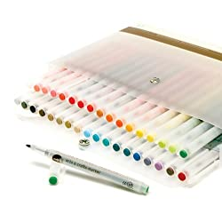 Martha Stewart Crafts Arts and Crafts Marker Set, 36 Pieces