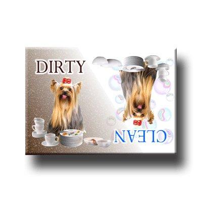 Yorkshire Terrier Dishwasher Magnet