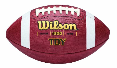 Wilson TDY Youth Leather Game Football
