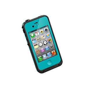 LifeProof Case for iPhone 4 4S Retail Packaging Blue Black